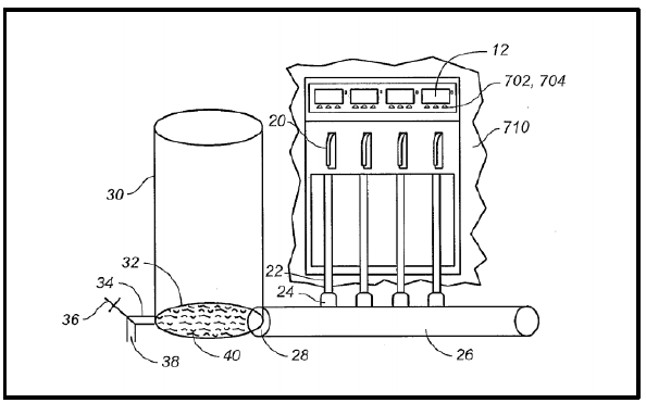 Figure 1: Patent #US20150336784 Schematic