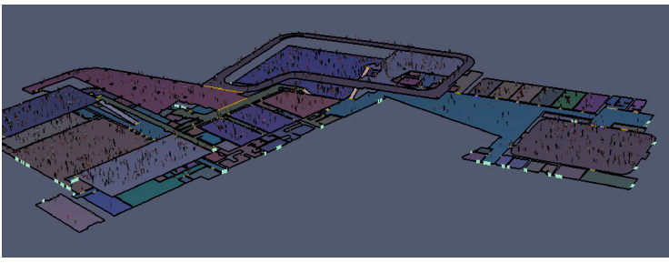 Figure 58. Pathfinder Layout of the Entire Building