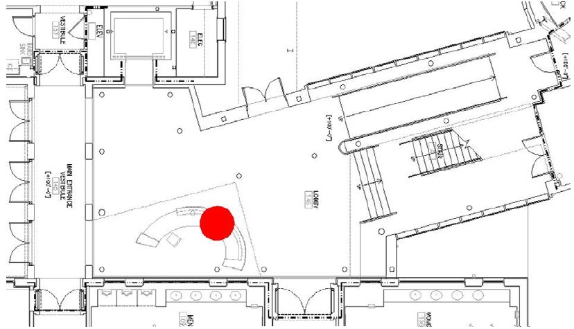 Figure 60 Lobby Fire Location
